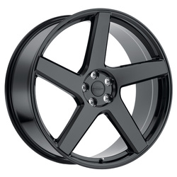 Redbourne Wheels Mayfair - Gloss Black - 24x10