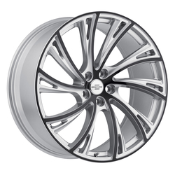Redbourne Wheels Noble - Gloss Titanium with Gloss Black Face Rim