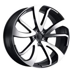 Redbourne Wheels Vincent - Gloss Black W/Mirror Cut Face Right Rim - 22x10.5