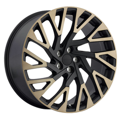 Redbourne Wheels Westminster - Matte Black with Machine Face & Dark Matte Tint