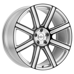 Redbourne Wheels Wilks - Silver with Gloss Black Face - 20x9.5