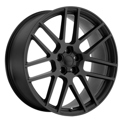 Redbourne Wheels Windsor - Matte Black with Gloss Black Face