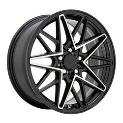 Ruff Wheels Clutch - Gloss Black with Machined Face Rim