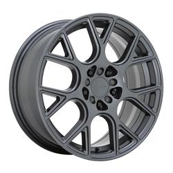 Ruff Wheels Drift - Gloss Gunmetal Rim - 17x7.5