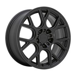 Ruff Wheels Drift - Matte Black Rim - 17x7.5