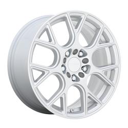 Ruff Wheels Drift - Silver Rim - 17x7.5