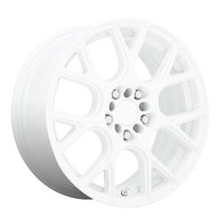 Ruff Wheels Drift - Gloss White Rim