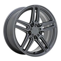 Ruff Wheels Nitro - Gloss Gunmetal Rim - 17x7.5