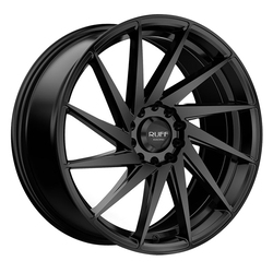 Ruff Wheels R363 - Satin Black Rim