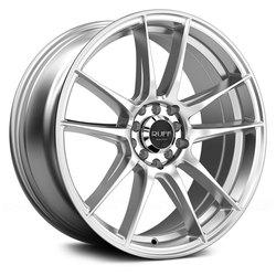 Ruff Wheels R364 - Hyper Silver Rim