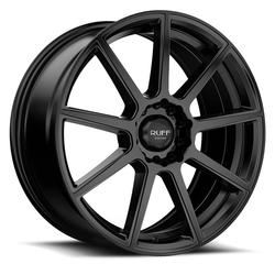 Ruff Wheels R366 - Satin Black Rim