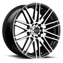 Ruff Wheels R367 - Satin Black with Machined Face Rim