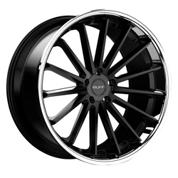 Ruff Wheels R3 - Satin Black with SS Lip Rim