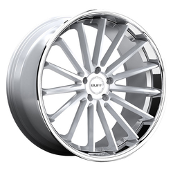 Ruff Wheels R3 - Gloss Silver with SS Lip Rim