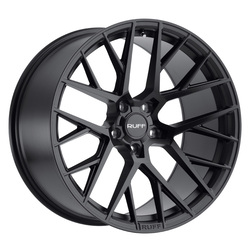 Ruff Wheels R4 - Gloss Black Rim