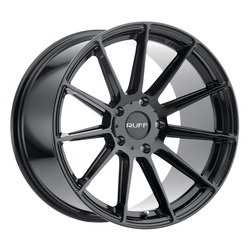 Ruff Wheels RS2 - Gloss Black Rim
