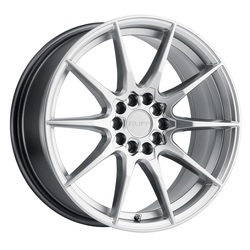 Ruff Wheels Speedster - Hyper Silver Rim - 17x7.5