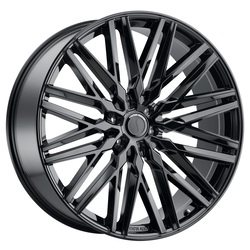 Status Wheels Adamas - Gloss Black Rim - 24x9.5