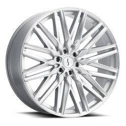 Status Wheels Adamas - Silver W/Mirror Face Rim - 26x10