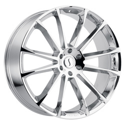Status Wheels Goliath - Chrome Rim - 26x10