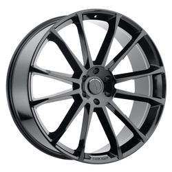 Status Wheels Goliath - Gloss Black
