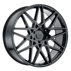 Status Wheels Griffin - Gloss Black Rim - 24x9.5
