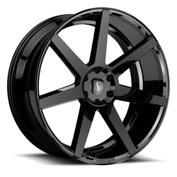 Status Wheels Journey - Gloss Black Rim - 26x10
