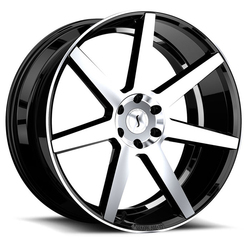 Status Wheels Journey - Gloss Black with Machined Face Rim - 26x10
