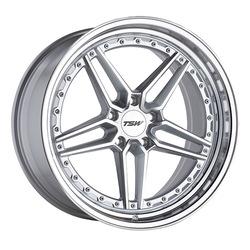 TSW Wheels Ascari - Silver w/Mirror Cut Face and Lip Rim
