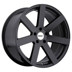 TSW Wheels Bardo - Matte Black - 19x8
