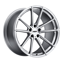 TSW Wheels Bathurst - Silver W/Mirror Cut Face Rim - 21x9