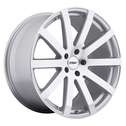 TSW Wheels TSW Wheels Brooklands - Silver W/Mirror Cut Face - 19x9.5