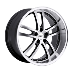 TSW Wheels Cadwell - Gunmetal Mirror Cut Face/Lip