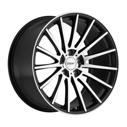 TSW Wheels TSW Wheels Chicane - Gloss Black w/Mirror Cut Face - 19x9.5