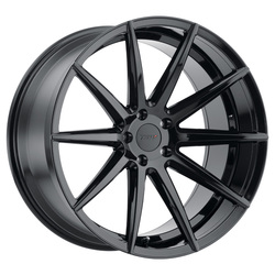 TSW Wheels Clypse - Gloss Black Rim - 22x11