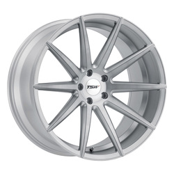TSW Wheels Clypse - Titanium w/Matte Brushed Face Rim - 22x10.5