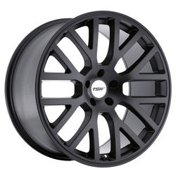 TSW Wheels Donington - Matte Black Rim - 17x7