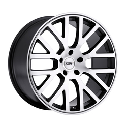 TSW Wheels TSW Wheels Donington - Gunmetal Mirror Cut Face/Gunmetal Lip - 19x8