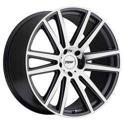 TSW Wheels Gatsby - Gunmetal W/Mirror Cut Face