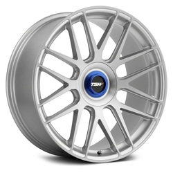 TSW Wheels Hockenheim T - Silver w/Brushed Silver Face Rim - 19x9.5