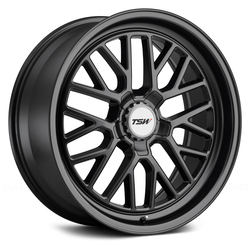 TSW Wheels Hockenheim S - Semi Gloss Black (Gunmetal Hex Nut)