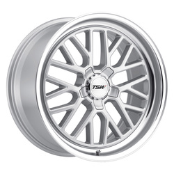 TSW Wheels TSW Wheels Hockenheim S - Silver W/Mirror Cut Lip - 19x8.5