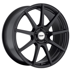 TSW Wheels Interlagos - Matte Black - 19x8