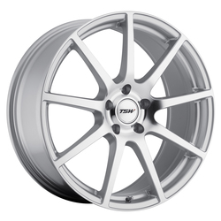 TSW Wheels Interlagos - Silver W/Mirror Cut Face Rim - 19x10.5