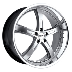 TSW Wheels Jarama - Hyper Silver W/Mirror Cut Lip - 19x8