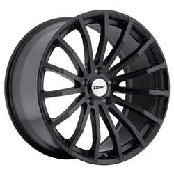 TSW Wheels Mallory - Matte Black - 19x8