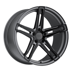 TSW Wheels Mechanica - Matte Gunmetal W/Matte Black Face - 18x10.5
