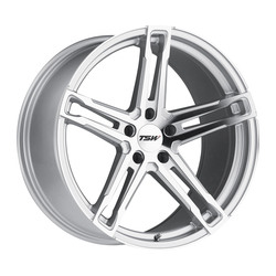 TSW Wheels Mechanica - Silver W/Mirror Cut Face Rim - 19x10.5