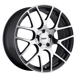 TSW Wheels Nurburgring - Gunmetal W/Mirror Cut Face Rim - 22x10.5