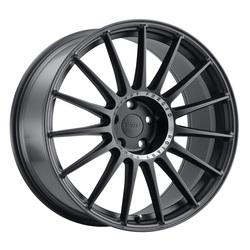 TSW Wheels Paddock - Semi Gloss Black W/Machined Tinted Ring Rim